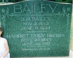 Harriet Emily <i>Thedford</i> Bailey