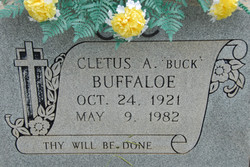 Cletus A. Buck Buffaloe