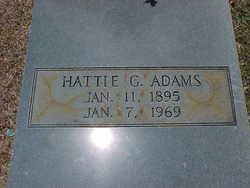 Hattie Gertrude Adams