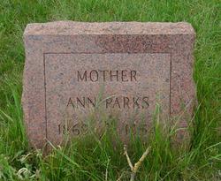 Anna <i>Lawrey</i> Parks