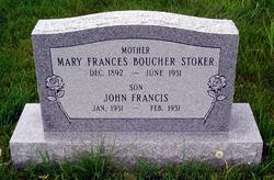 Mary Frances <i>Boucher</i> Stoker