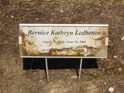Bernice Kathryn Ledbetter