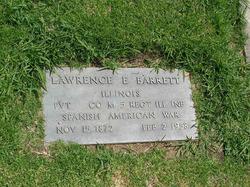 Pvt Lawrence E Barrett