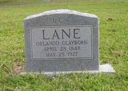 Orlando Clayborn O. C. Lane