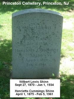 Wilbert Lewis Sharp Shinn