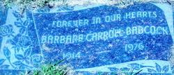 Barbara Carroll Babcock