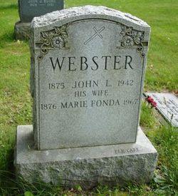 Marie <i>Fonda</i> Webster