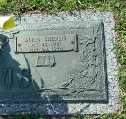 Doris Hilda Dot <i>Chaplin</i> Blasius