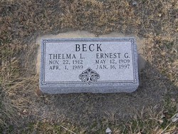 Ernest G Beck