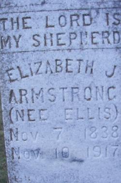 Elizabeth J. <i>Ellis</i> Armstrong