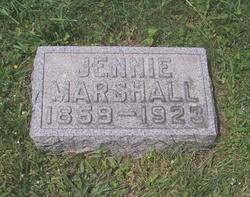 Jennie <i>Freeman</i> Marshall