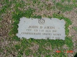 Pvt John D. Aiken