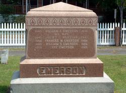 Juliet F. <i>Webster</i> Emerson