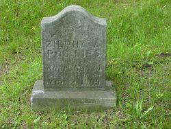 Zilpha A. <i>Greene</i> Phillips