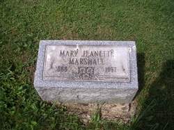 Mary Jeannette Marshall