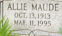 Allie Maude Alexander