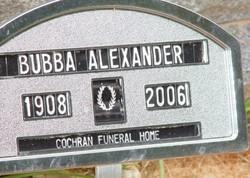 A. B. Bubba Alexander