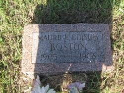 Maurice Chisum Boston
