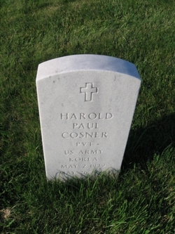 Harold Paul SHORTY Cosner, Jr