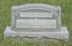Mary Lenora Nora <i>Dotson</i> Leatherwood