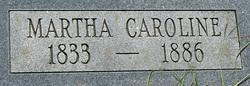 Martha Ann Caroline <i>Pearson</i> Leatherwood