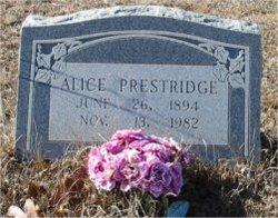 Alice Prestridge