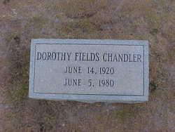 Dorothy <i>Fields</i> Chandler
