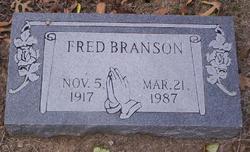 Fred Thomas Branson