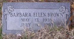 Barbara Ellen <i>Fagan</i> Brown