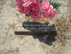 Julia Ann <i>Shelton</i> Glossup