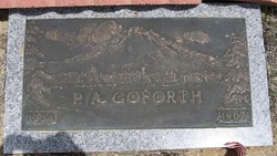 P. A. Goforth