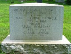 Marie Louise <i>Cadwell</i> Seymour