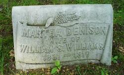 Martha S <i>Denison</i> Williams