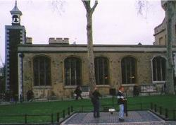 Chapel of Saint Peter-ad-Vincula, Tower of London