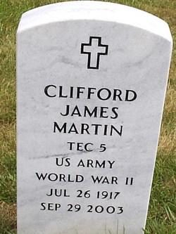 Clifford James Martin