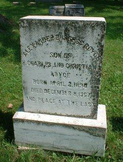 Alexander Burgess Royce