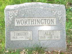 Alice May <i>Lukens</i> Worthington