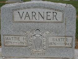 Martha Viola Mattie <i>Hays</i> Varner