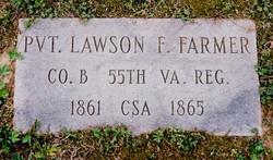 Pvt Lawson F Farmer