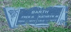 Kathryn M Barth