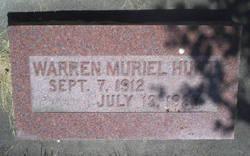 Warren Muriel Hunt