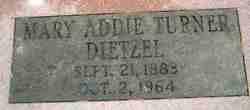 Mary Addie <i>Turner</i> Dietzel