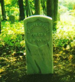 Pvt Samuel Cavins
