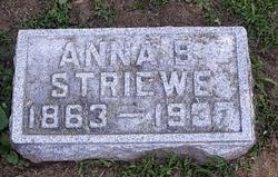 Anna Barbara <i>Gerichs</i> Striewe