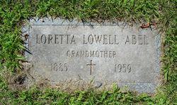 Loretta <i>Lowell</i> Abel