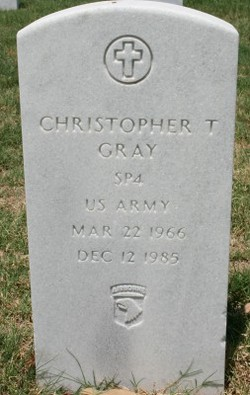 Christopher Thomas Gray