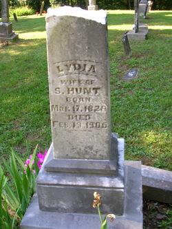 Lydia <i>Cummins</i> Hunt