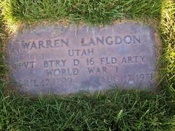 Warren Langdon