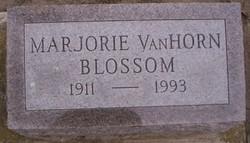 Marjorie <i>VanHorn</i> Blossom