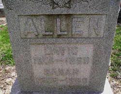 Sarah Mary <i>Bates</i> Allen